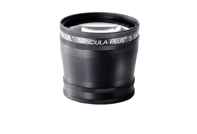 Volk Macula Plus 5.5 - schwarz/ mit individueller Gravur möglich