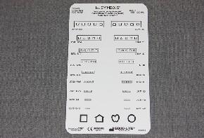 LEA Nahtest, 40 cm Entfernung, Taschenformat 9 x 16 cm Nr.250900