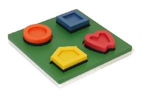 Dreidimensionales Symbolset LEA Puzzle Nr. 251600