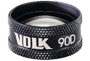 Volk 90D Lupe - schwarz / ohne Gravur