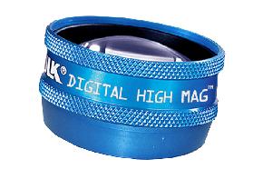 Volk Digital High Mag Lupe - blau / ohne Gravur