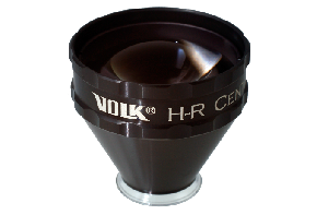 Volk ind. Kontaktglas HR Centralis - schwarz/ individuelle Gravur möglich