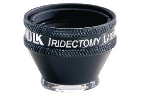 Volk Iridectomie Kontaktglas - schwarz/ individuelle Gravur möglich