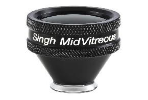 Volk Singh MidVitreous Kontaktglas - schwarz/individuelle Gravur möglich