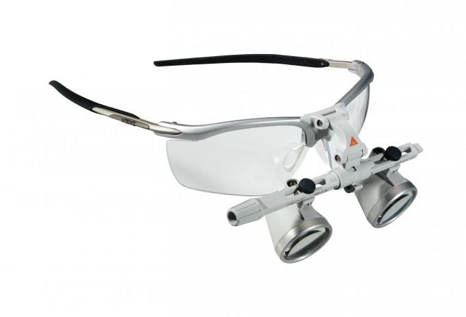 Heine HR Lupenbrille 2,5x /340 mit S-FRAME und Zubehör