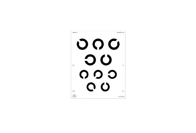 C-Test Ferntafel Set mit 2 Tafeln