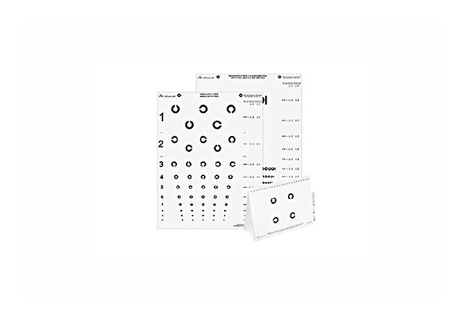 C-Test Ferntafel zur Prüfung von Trennschwierigkeiten