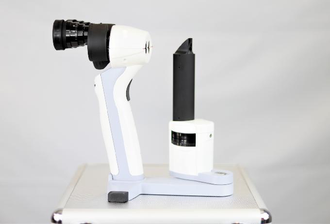 LED Handspaltlampe LS-1B mit Vergrößerungswechsler PSL Typ
