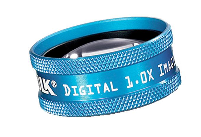 Volk Digital 1,0x Imaging - blau / individuelle Gravur möglich
