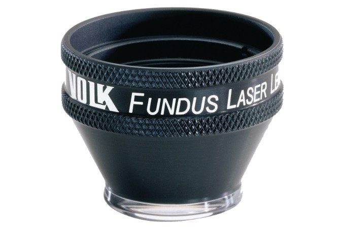 Volk Fundus Laser Kontaktglas - schwarz/ individuelle Gravur möglich