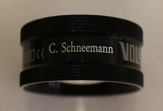 Volk 28D - schwarz mit Gravur: C. Schneemann