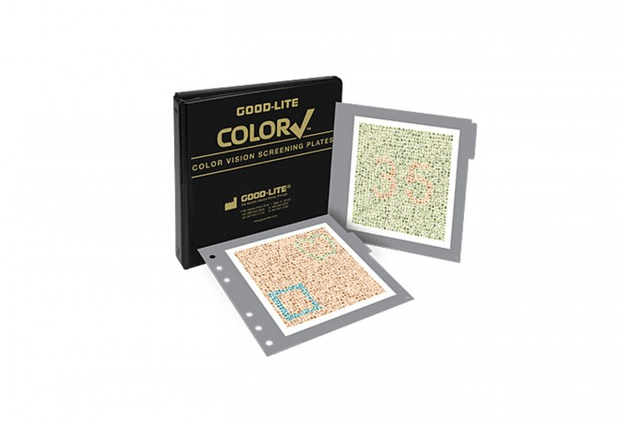 Color Vision Screening Plates