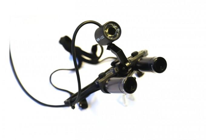 Keeler Prismatic Lupenbrille 4.5x, 42cm inkl LED
