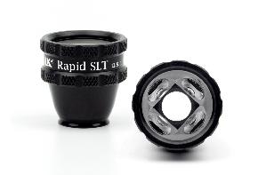 Volk RAPID SLT  Laserkontaktglas - schwarz/ indidviduelle Gravur möglich